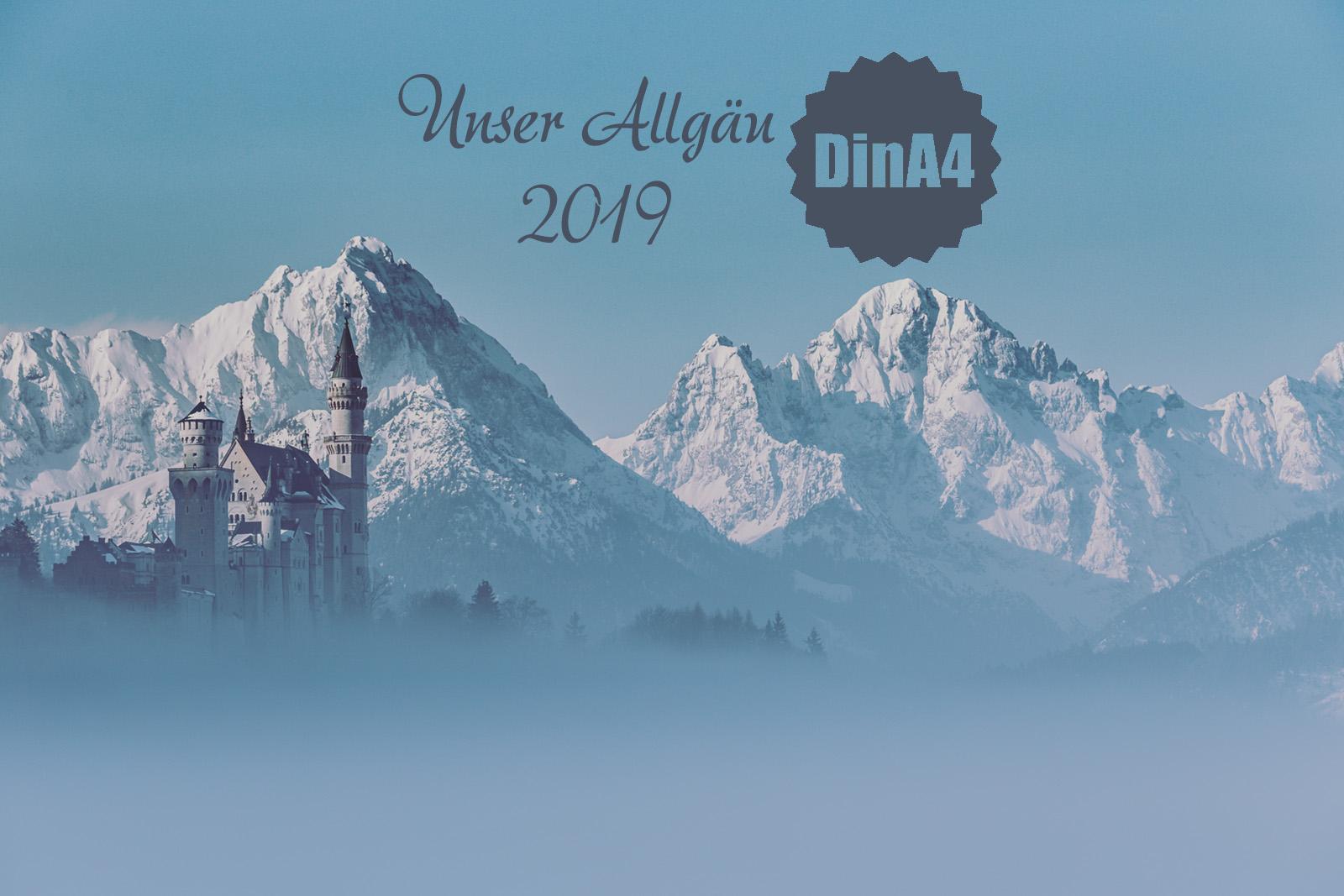 Allgäu Kalender 2019 von Michael Helmer